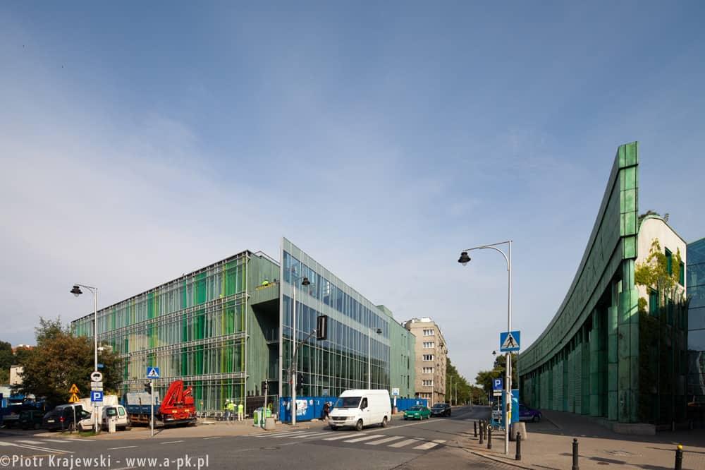 Nowy budynek Instytutu Lingwistyki Stosowanej przy ulicy Dobrej